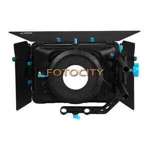 FOTGA-DP3000-M3-Matte-Box-Swing-away-Filter-Tray-For-15mm-Rod-DSLR-Camera-Rig-US
