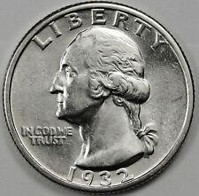 1932-p Washington Quarter.  B.U.  84593   (Inv-D)