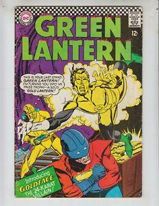 Green-Lantern-48-VG-4-5-10-66-Goldface-Gil-Kane-artwork