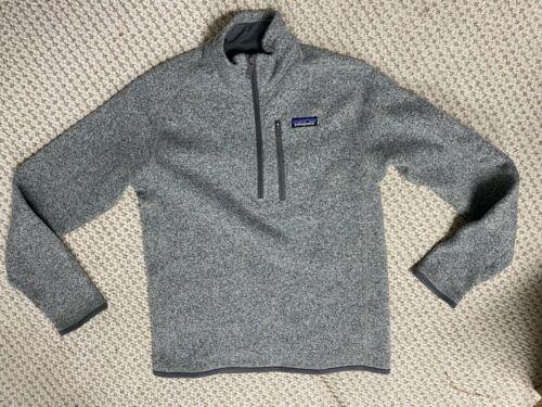 Patagonia Quarter Zip Men's Gray Jacket Patagonia