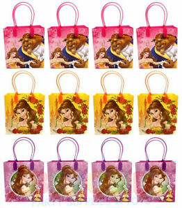 Beauty-and-the-Beast-Party-Favor-Gift-Bags-Treat-Goody-Candy-Loot-Birthday-Bags