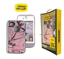 OtterBox for Apple iPhone 4/4S Defender Series Case & Clip - Ap/Pink camo New