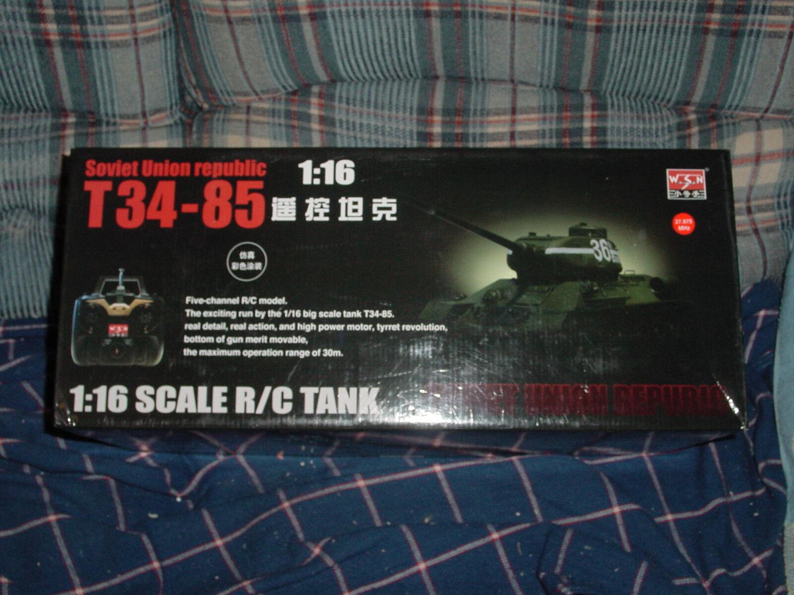 WSN 1 16 T34 85 Tank