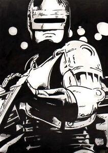 Robocop-Original-Art-Sketch-Peter-Weller