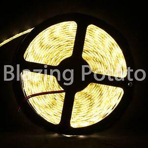 LumenWave-5M-5050-IP65-Waterproof-Flexible-LED-Strip-Lights-White-PCB-WarmWhite