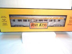 MTH-Rail-King-30-67865-Chesapeake-amp-Ohio-60-039-Streamlined-Passenger-Car-Mint-amp-bx