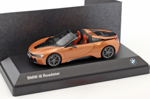 Genuine BMW 1 43 Scale i8 Roadster in Bronze 80 42 2 454 785