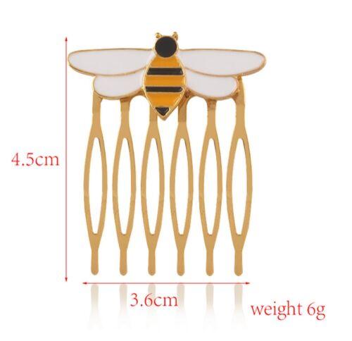 Simile Queen Bee Ladybug Pettinino Capelli Pettine Gioiello Queen QUBEE01COM