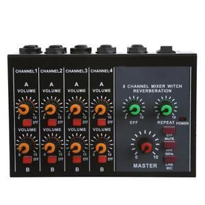 8-microfono-del-canale-mono-mixer-audio-stereo-a-casa-karaoke-amplificatore-suono-di-miscelazione