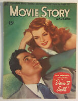 MOVIE STORY 1947 Rita Hayworth BARBARA STANWYCK Peggy Cummins LARRY PARKS