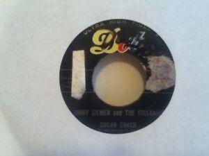 "JIMMY  GILMER  AND THE FIREBALLS       7""  VINYL  SINGLE ,   SUGAR  SHACK"