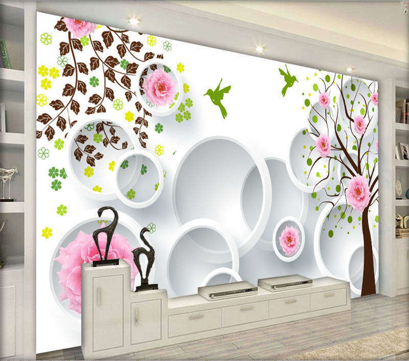 Lively Cute Spring 3D Full Wall Mural Photo Wallpaper Printing Home Kids Decor