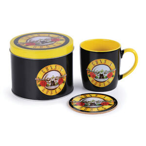 Boxed Gift Set - Mug & Coaster a Gift Tin - GUNS N ROSES - 85480