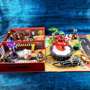 Skylanders-Lot-Wired-Portal-of-Power-XBO360-15-Mixed-Giants-Superchargers-Box