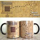 New HP! Color Changing Mug, Harry Potter Mug, Marauders Map, Magical Coffee Cup!
