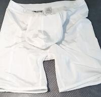 (white) Men's Butt Lifter/pouch Ultra Thin Sheer Enhancer Thong Jock Brief