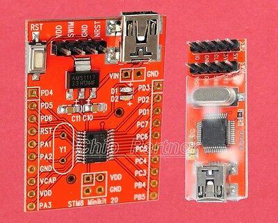 STM8S003F3P6 System Development Board + ST-Link V2 Emulator