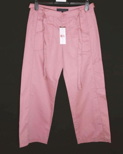 Belt Pink New Fcuk RRP£65 Bnwt Women/'s French Connection Trousers