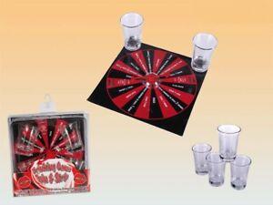 Juego tomando bebidas spin or strip saufspiel fiesta juego 4 vasos y plataforma giratoria nuevo  </span>