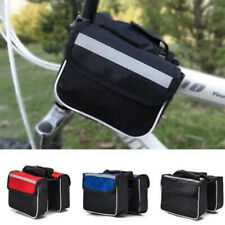 Storage Pouch 3 In 1 Mountain Bike Portable Bicycle Pannier Reflective Strip