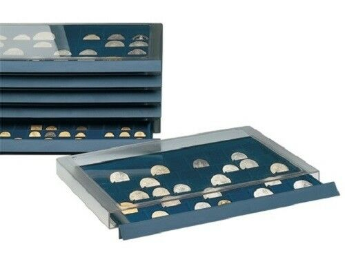 Coin Collection Storage Drawer w//40 Compartments for Morgan Dollars