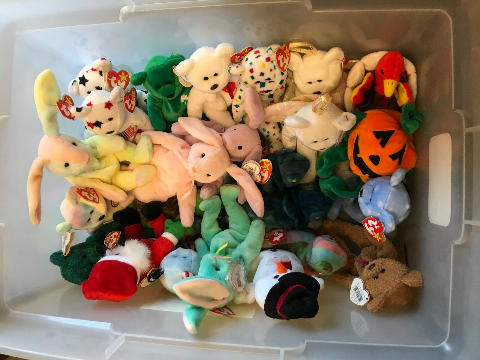 Beanie Baby Collection Some Rare In Group