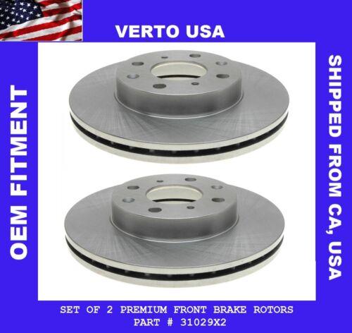 Front Brake Rotors For Honda Civic del Sol expect V-tec model 1993 1994 to 1997
