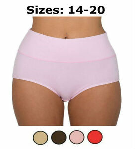 s l300 2x women's bamboo fibre brief extra tummy support control,2x Womens Underwear