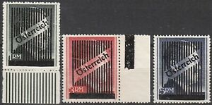Lot-Stamp-Germany-Austria-WWII-War-Era-Adolf-Hitler-High-Value-Overprints-MNG