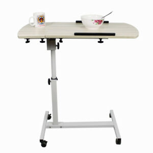 Overbed-Table-Medical-Care-Over-Bed-for-meals-laptop-work-study-80cm-Wood-Grain