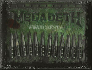 MEGADETH-WARCHEST-US-IMPORT-4-CD-DVD-BOX-SET-NEW-FACTORY-SEALED-MINT