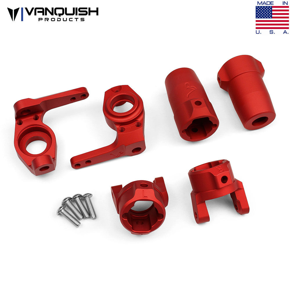 Vanquish VPS06521 SCX10 stage one kit rosso Axial SCX10