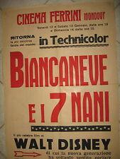 V895-CINEMA-WALT DISNEY-BIANCANEVE E I SETTE NANI-MONDOVI'