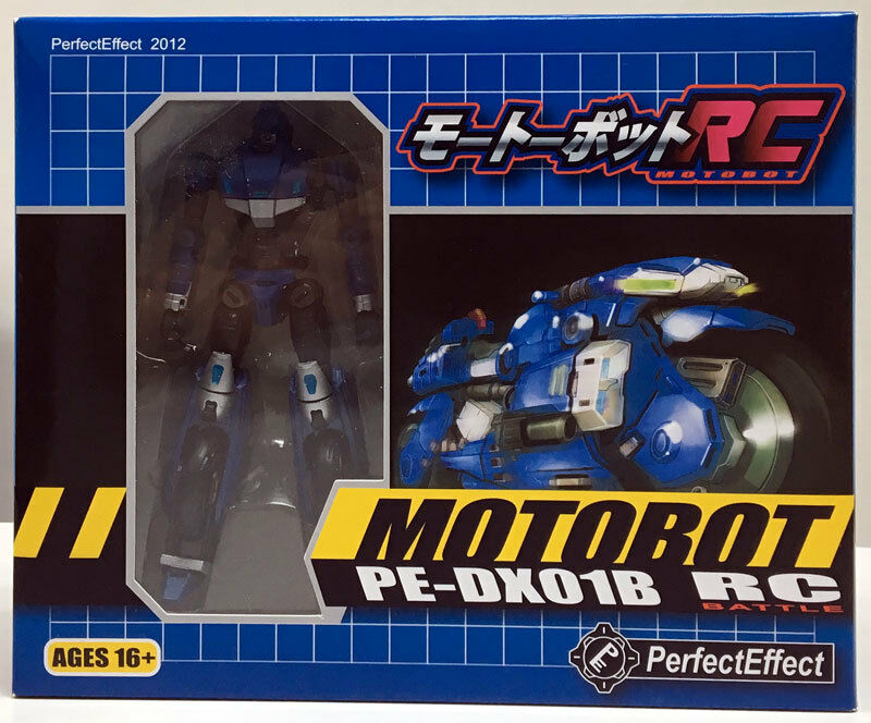 Perfect Effect MOTOBOT PEDX01 RC battaglia Ver