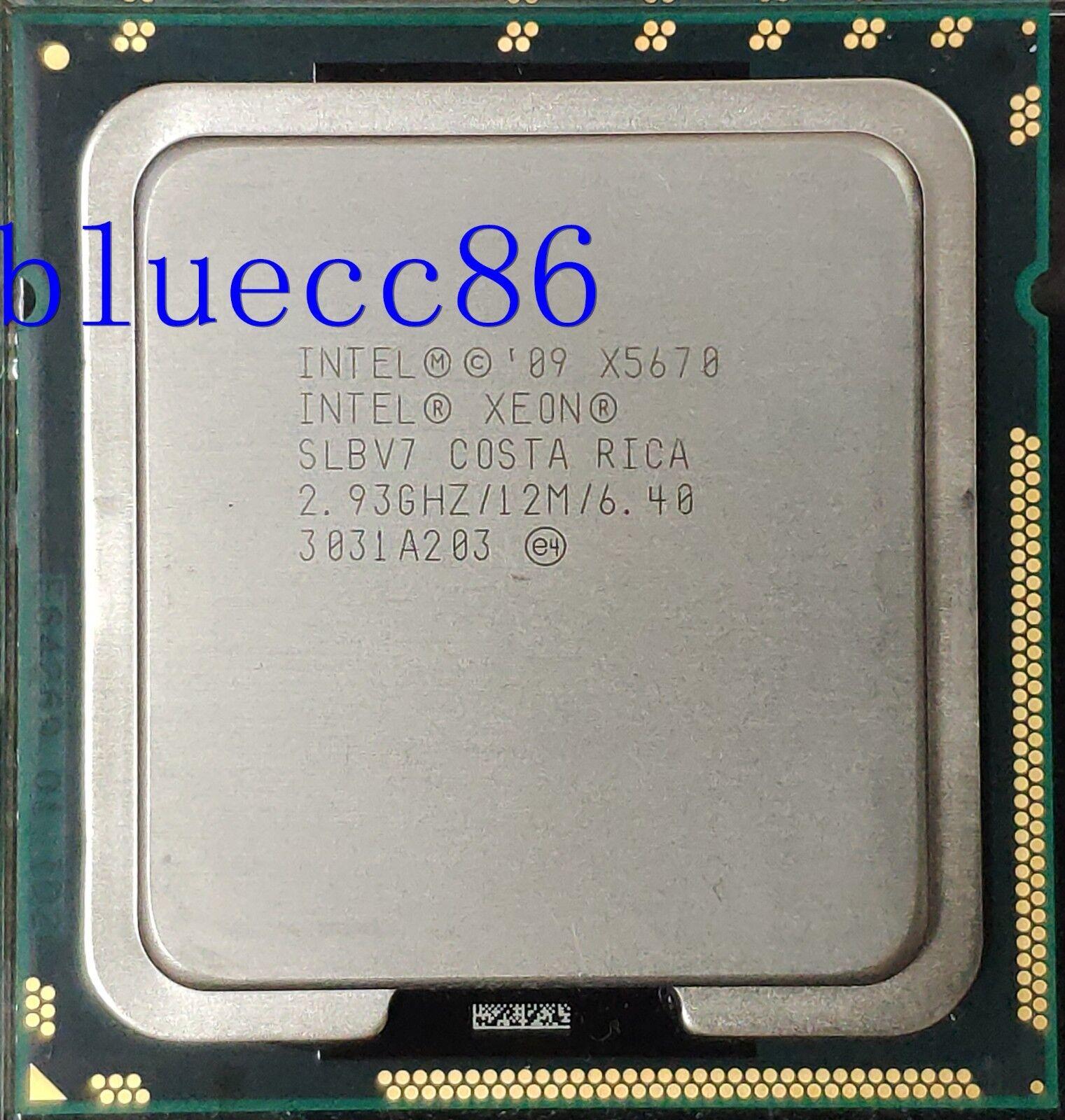Intel Xeon X5670 X5670 Processor 2.93GHz//LGA1366//12MB L3 Cache//Six Coreserver CPU X5670