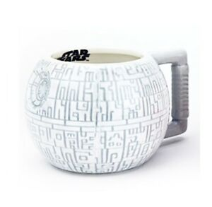Star Wars Death Star 3D Sculpted Coffee Mug Authentic Beer Cup Collectibles New
