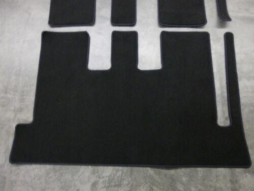 Kofferraum Fahrgastraum Velours Fußmatten für Mercedes Benz V-Klasse W447