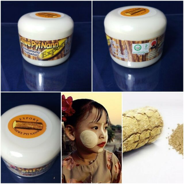 Export Thanakha Powder Anti Acne Aging Shwe Pyi Nann Whitening Nature  Whitening
