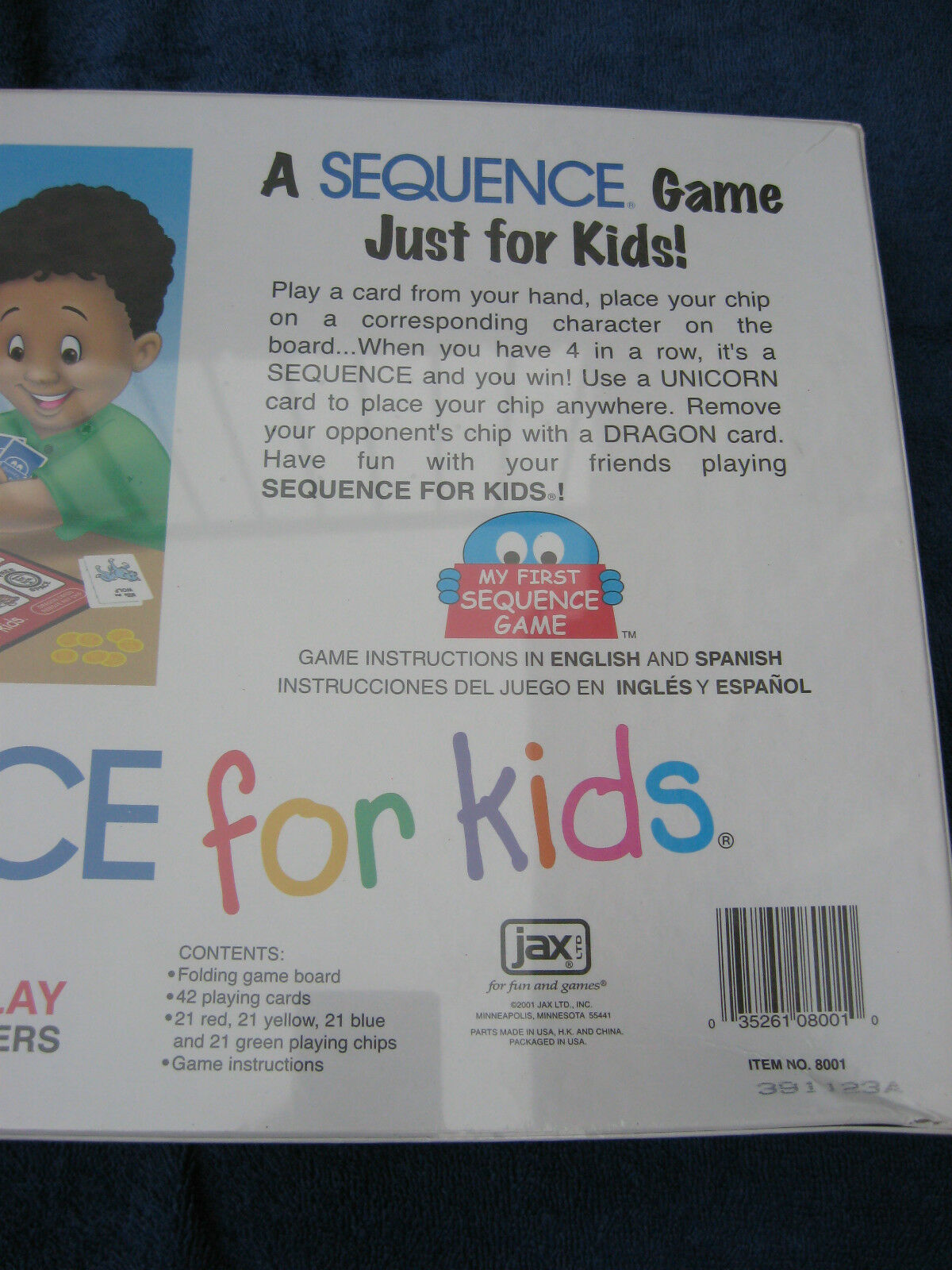 New Sequence For Kids Ages 3 8 Instructions In English And Spanish