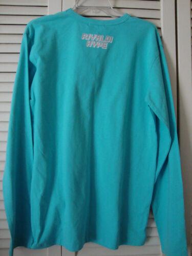 Long Sleeve Womens Nwt New Embellished Rivaldi Shirt Xl Pt6wv