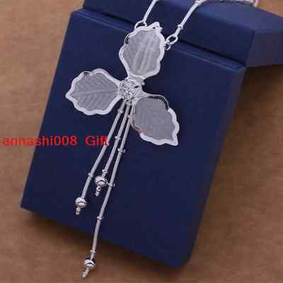 Wholesale Jewellery 925Solid Silver Charming Pendant Necklace Chains Xmas Gifts
