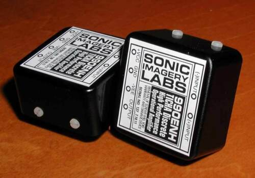 Sonic Imagery Labs 990Enh-Ticha Discrete OpAmp 990 audio performance upgrade