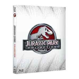 Blu-ray-JURASSIC-PARK-Collection-4-Blu-Ray-sigillato