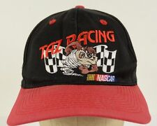 item 8 Taz Racing Nascar Tasmanian Devil Red Bill Black Baseball Cap Hat  Adjustable -Taz Racing Nascar Tasmanian Devil Red Bill Black Baseball Cap  Hat ... 72750a2b3357