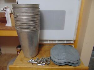 TAP  Spiles Spouts Lid COVER MAPLE SYRUP Old GALVANIZED Sap Bucket