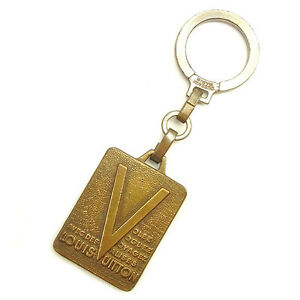Louis-Vuitton-key-ring-Key-holder-Gold-Woman-unisex-Authentic-Used-T1272