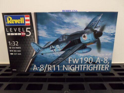 Revell-Germany    1:32  Fovke Wulf Fw190 A8   RMG3926-NEW