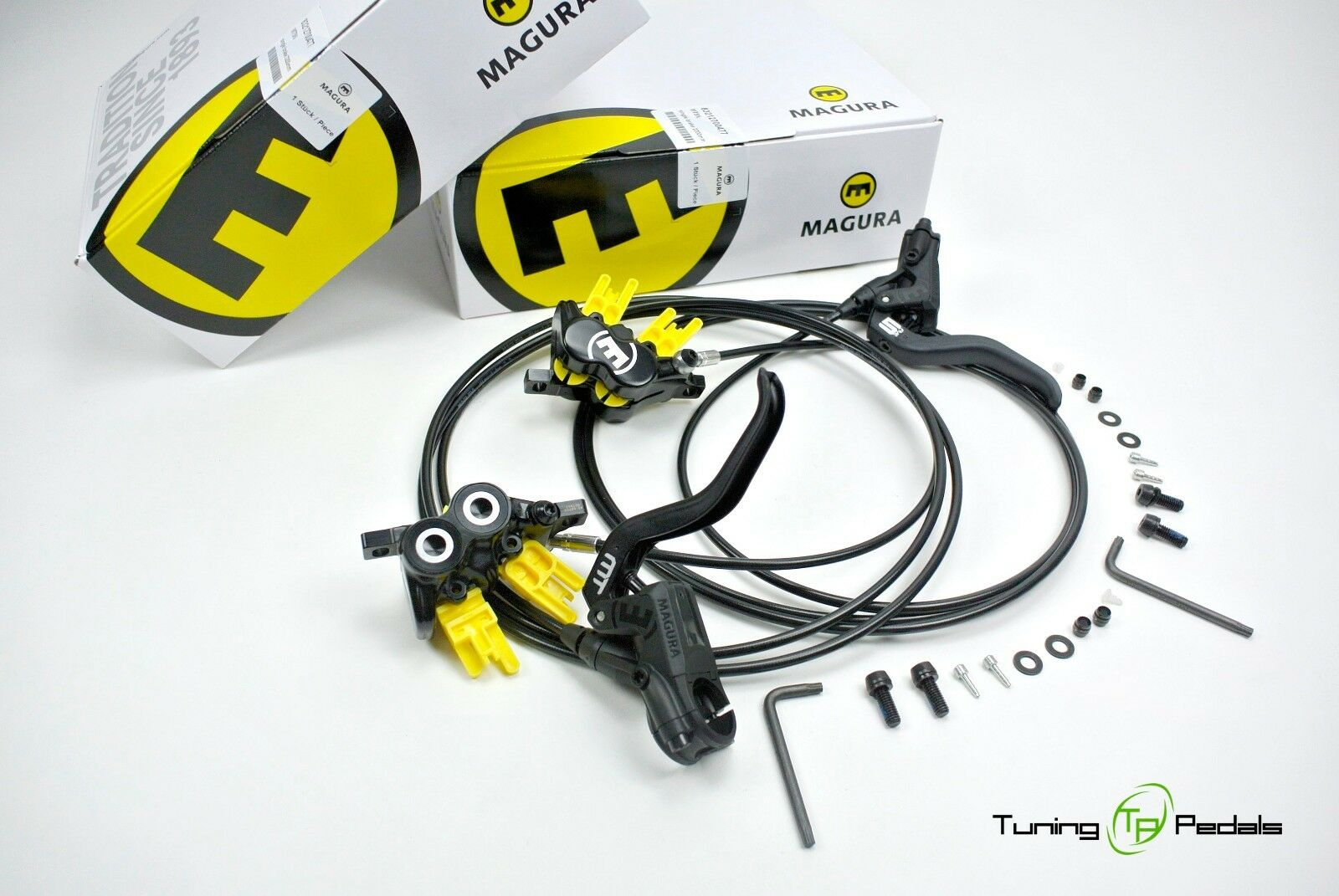 Magura MT5 Brake, 2 Finger Lift, 4 Piston Front   Hr MTB Disc Brake