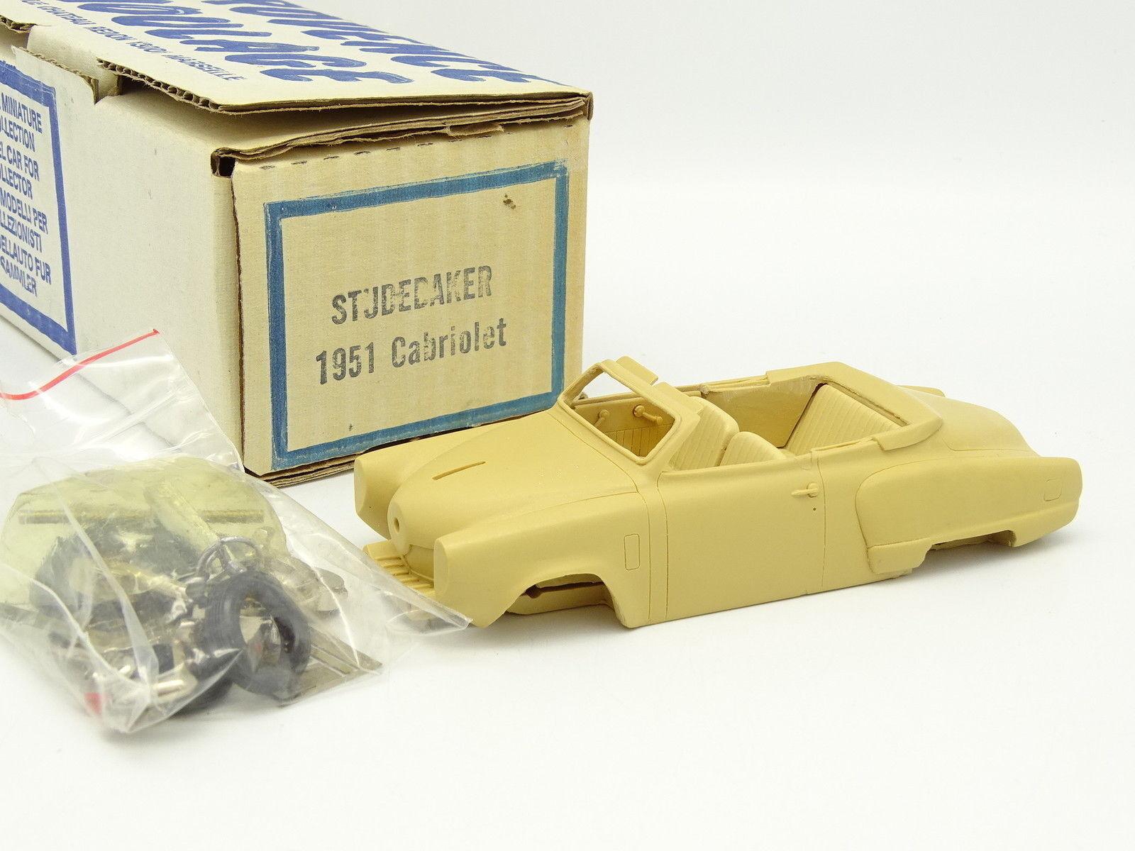 Provence Moulding Moulding Moulding Kit to assemble 1 43 - Studebaker Champion 1951 Cabriolet ec3203