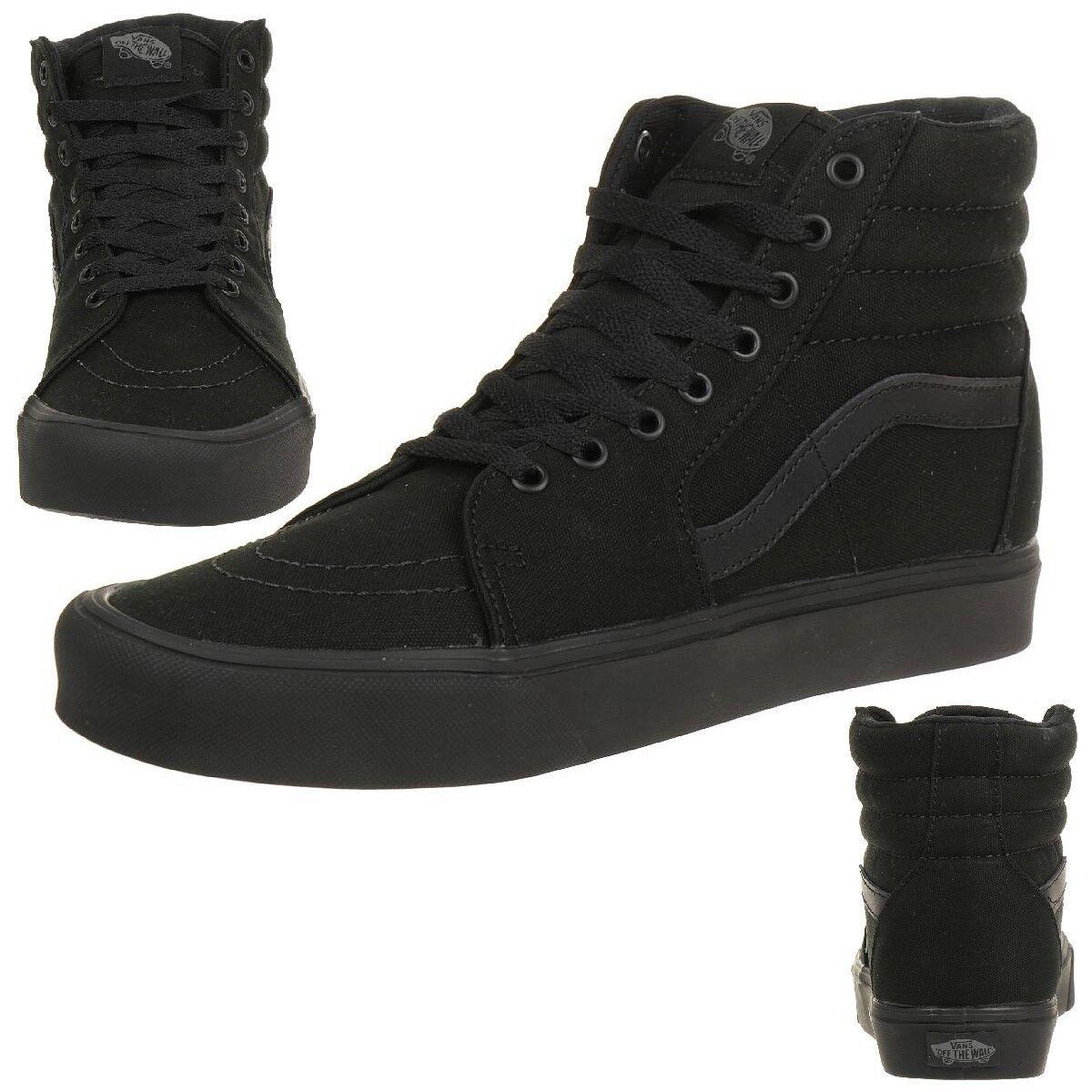 VANS Sk8-Hi Lite Canvas Unisex-Erwachsene Sneaker ultraleicht Negro Canvas Lite 9153ed